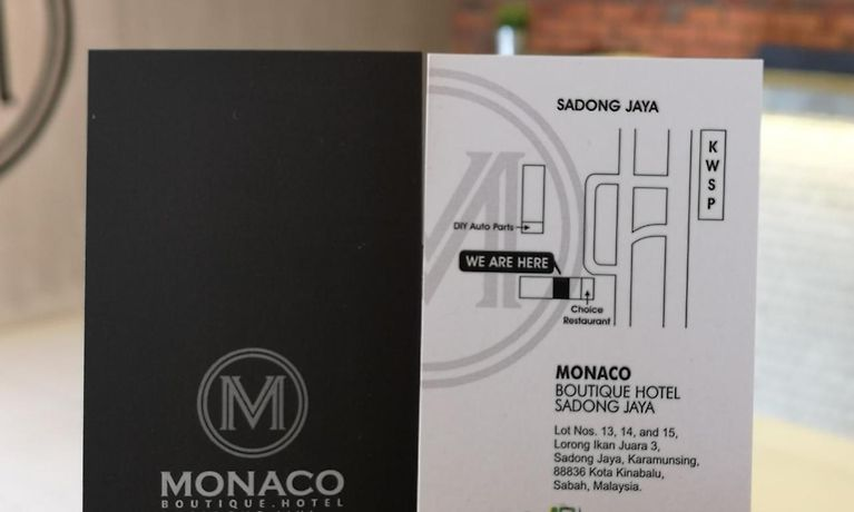 Monaco Boutique Hotel Sadong Jaya KotaKinabalu Malaysia 2